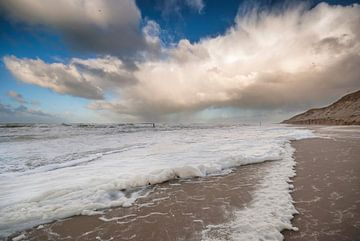 Zee, strand en duinen  van Margreet Frowijn
