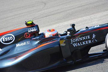 Jenson Button Spa Francorchamps 2015 sur kevin klesman