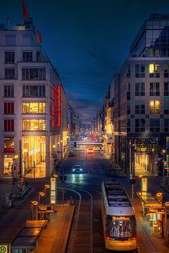 Friedrichstrasse Berlijn van Iman Azizi
