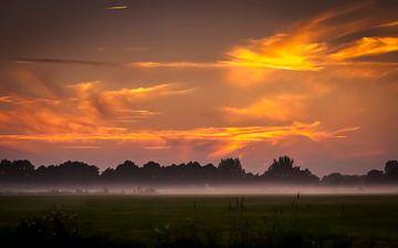 Zon & Mist Provincie Groningen van Marcel Braam