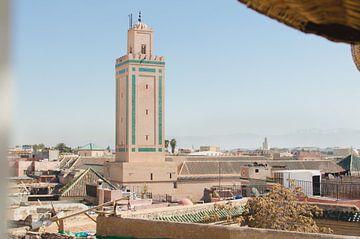 Moschee in Marrakech von Vera van den Bemt