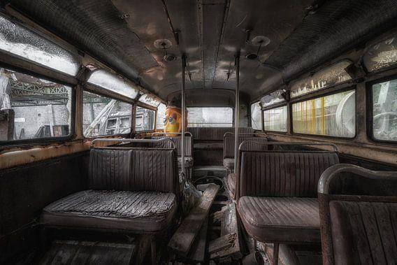 Oud maar niet vergeten, de binnenkant van een bus.