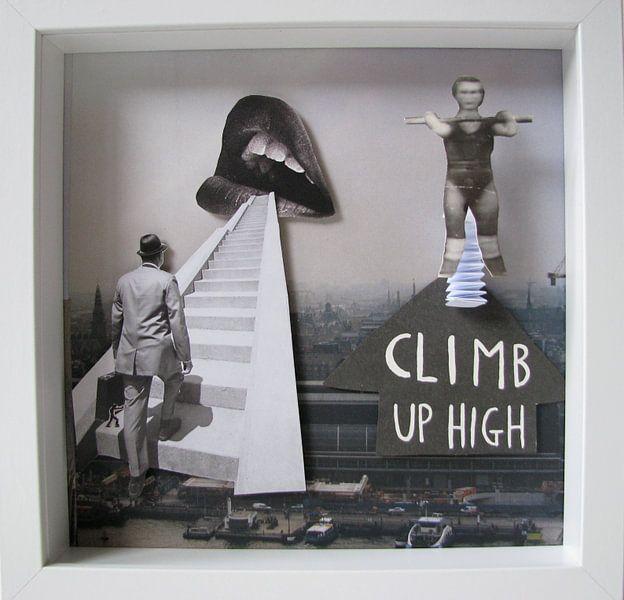 Climb up high van Rozemarijn de Man