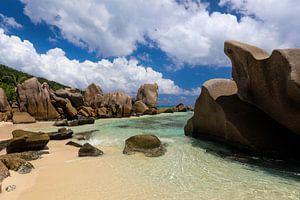 Seychellen. Anse Marron. Nummer 1 van Dmitriy Koublitskiy