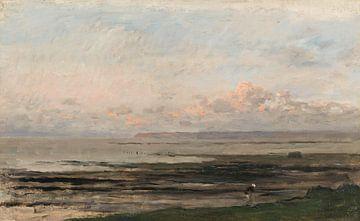 Strand bei Ebbe - Charles-François Daubigny
