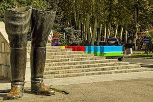 Laarzen in Teheran
