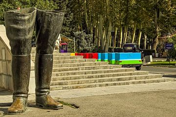 Laarzen in Teheran van René Holtslag