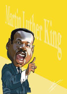 Porträt von Martin Luther King von NoëlArts