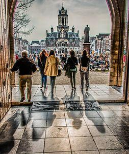 Deur Nieuwekerk Delft