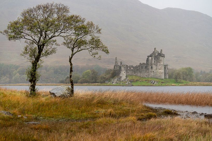 Kilchurn Castle, Glencoe Schotland van Ab Wubben