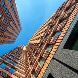 Symphony gebouw Amsterdam van Foto Amsterdam / Peter Bartelings