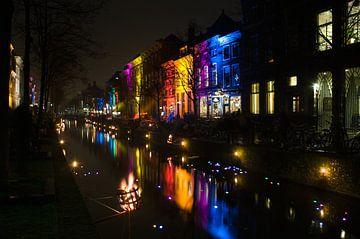 Delft by night sur Rogier Vermeulen
