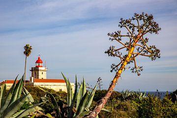 Vuurtoren in de Algarve van Dennis Eckert
