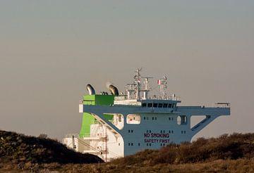 Niederländische Küste und Schifffahrt von Scheepskijker_Havenfotografie