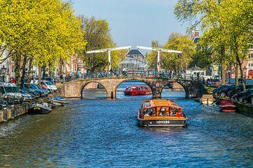 Keizersgracht in Amsterdam van Ivo de Rooij