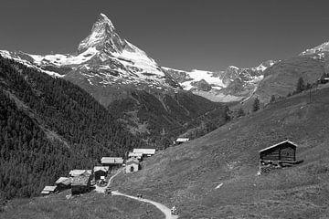 Weiler Findelen Zermatt Matterhorn von Menno Boermans