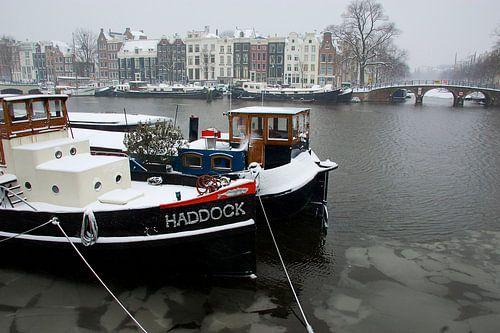Wasserwohnung in der Amstel Fluss Amsterdam