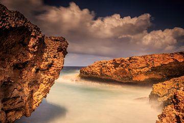 Kust van Curacao van René Holtslag