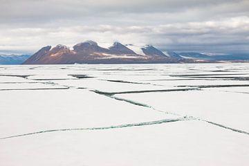 Gebroken zee-ijs Antarctica