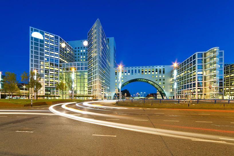 Nacht Foto Gate Haag Den Haag von Anton de Zeeuw