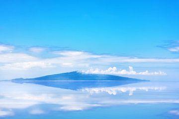 Tropisch Eiland Reflectie van Jan Brons
