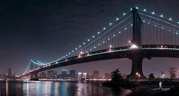 De 2 liefhebbers onder de Manhattan Bridge, Fabien BRAVIN van 1x