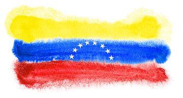 Symbolische nationale vlag van Venezuela van Achim Prill