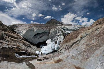 Aletschgletscher von Frans Bouvy