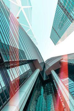 Hongkong skyscraper van Pascal Deckarm