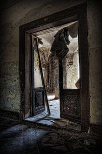 Verlaten klooster van