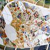 Gaudi abstracte mozaïeken, Barcelona van Inge Hogenbijl thumbnail