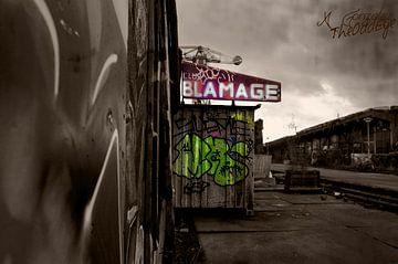 Club Blamage - NDSM werf in haar oude staat van Coco Gonzalez