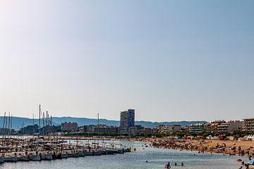strand aan de Spaanse kust