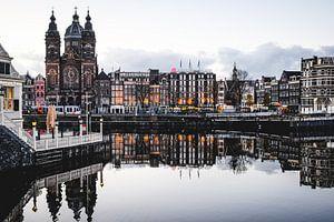 Amsterdam Winter Lights II von Alexander Tromp