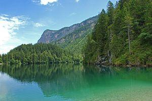 Bergmeer in de Dolomieten, Italië