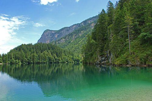 Bergmeer in de Dolomieten, Italië  van