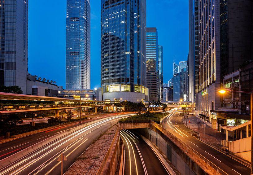 Hong Kong Streets van Thomas Klinder