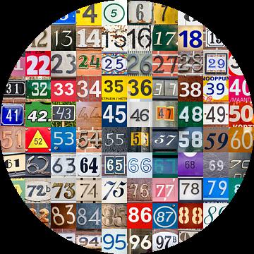 De getallenuitdaging: 1 tot en met 100 van Frans Blok