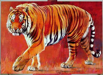 Bengalischer Tiger von Mark Adlington