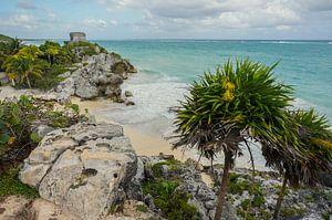 Maya ruines van Tulum - Mexico