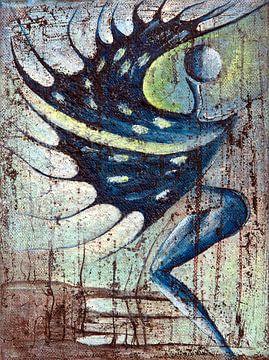 Danse de la libération n°2 par Petra Rivers sur Petra Rivers