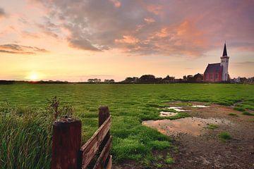 Kerkje Den Hoorn Texel sur John Leeninga
