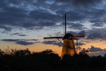 Moulins de Kinderdijk 3 sur Annemiek van Eeden