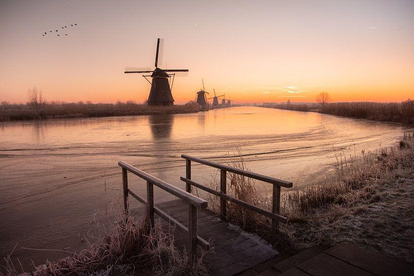 Winter in Nederland van Claire Droppert