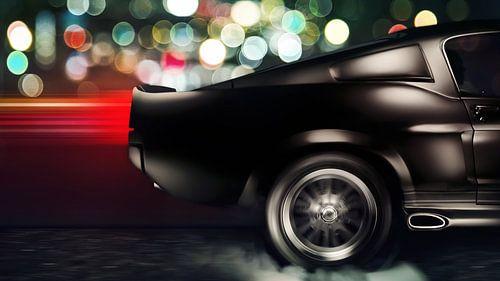 1968 Ford Mustang Shelby GT500E Eleanor von Thomas Boudewijn