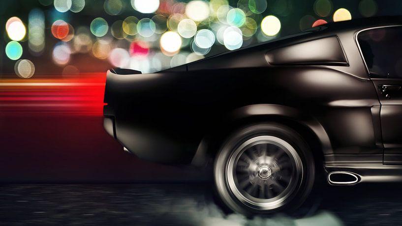 Ford Shelby Mustang GT500 Eleanor van Thomas Boudewijn