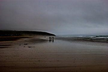Mystisches Strandbild in einer filmischen Umgebung von Herman Kremer