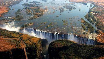 Victoria Falls Zambia sur