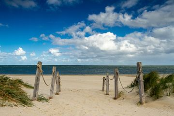 Strandopgang Texel van