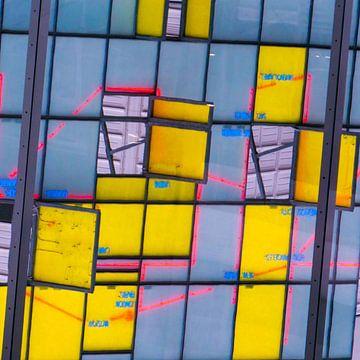 Den Haag - Station mozaiek van Wout van den Berg